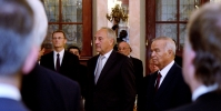 The visit of the President of Uzbekistan to Latvia
