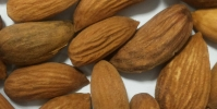 Purified almonds, 2nd grade